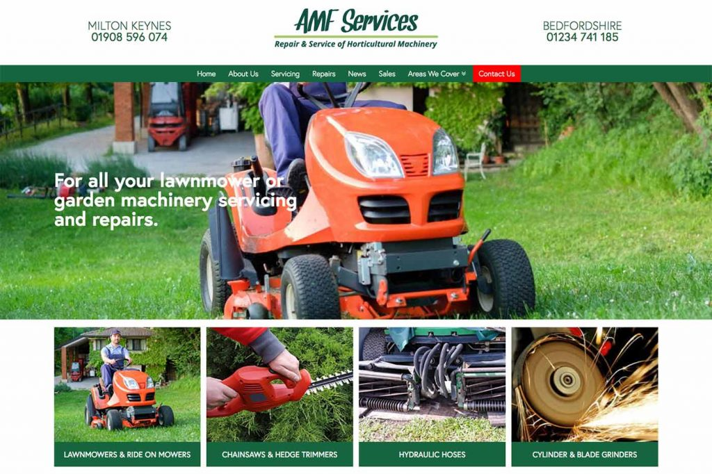 AMF Services Website