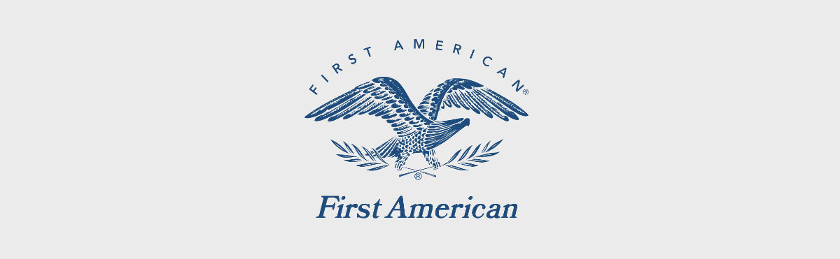 Logo of First American