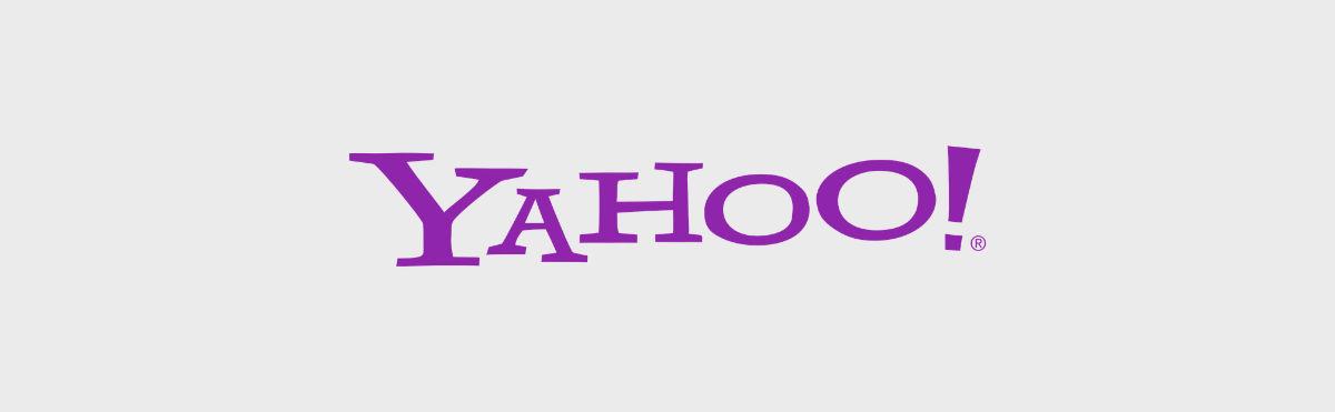 Logo of Yahoo