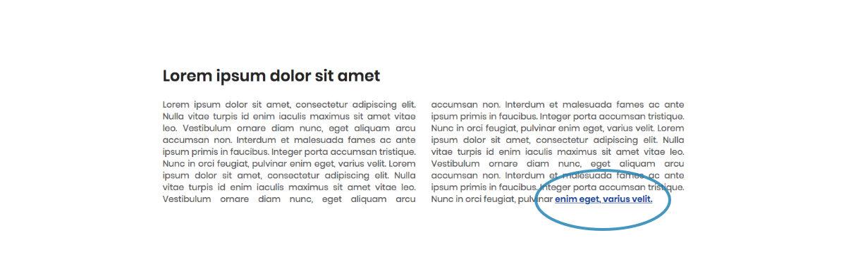 Text Design Tips