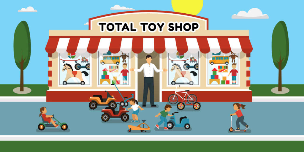 Tom's Toy Shop