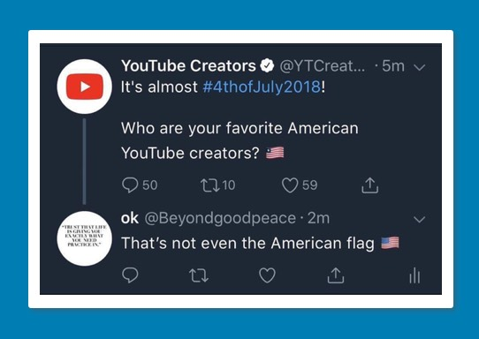 YouTube Creators - Independence Day