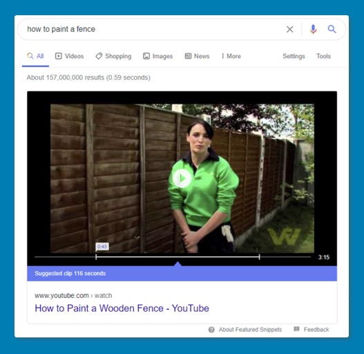 Google Featured Snippet 3
